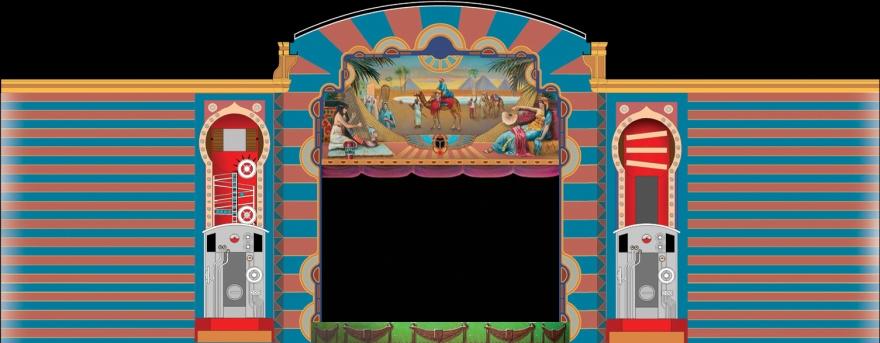 Decoratie manteau theater