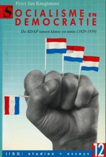 Omslag Socialisme en Democratie