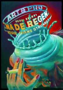Poster Na de Regen. Design Frits van Hartingsveldt. Silkscreen, A0, A1. 1997.