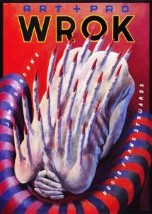 Poster Wrok. Design Frits van Hartingsveldt. Silkscreen, A0, A1. 1995.